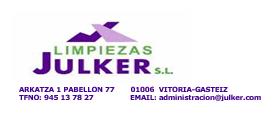 Limpiezas Julker logo